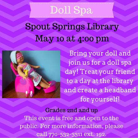 Doll Spa Website Article