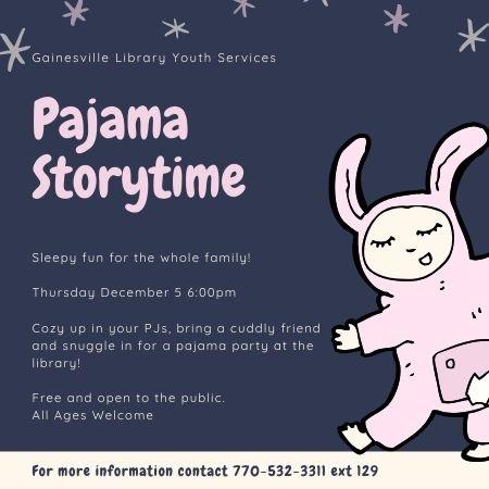 Pajama Storytime 12 05 19
