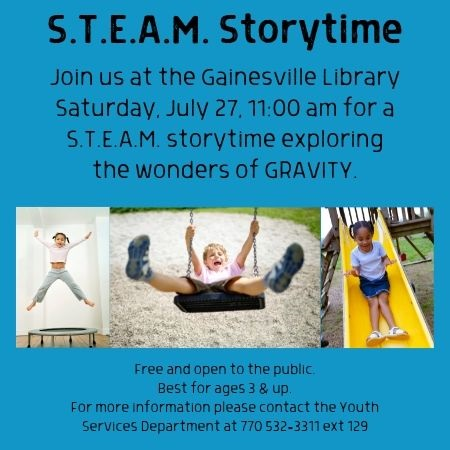 STEAM storytime 07 27