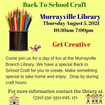 Web  Back to School Craft August 2021