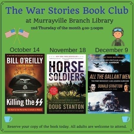 Web  War Stories Book Club MV October December 2021