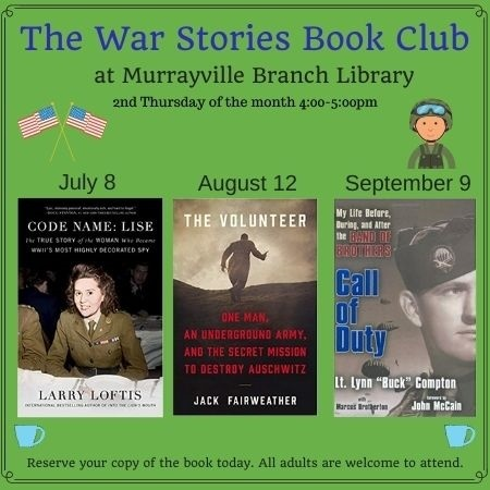 Web  War Stories book Club MV July September 2021 4