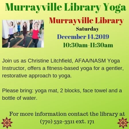 Web Murrayville Library Yoga